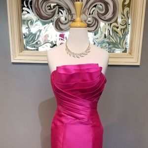Tony Bowls Magenta Formal Dress
